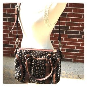 Fossil Long Live Vintage black & brown purse